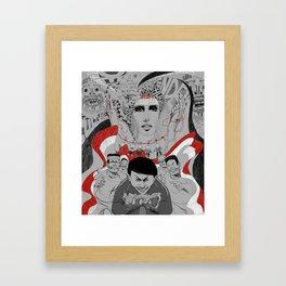 Corruption and Nepotism! Framed Art Print