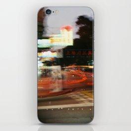 Hong Kong City Light iPhone Skin