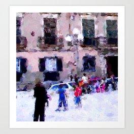 Cagliari Art Print