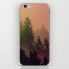 Cascadia Green Trees and Sunset iPhone Skin