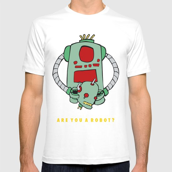 Are We Robot? T-shirt