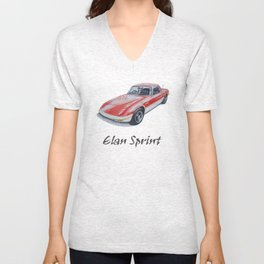 Lotus Elan Sprint Unisex V-Neck