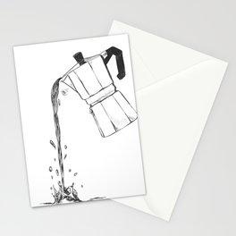 Moka Time Stationery Cards
