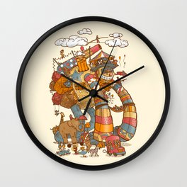 Circusbot Wall Clock