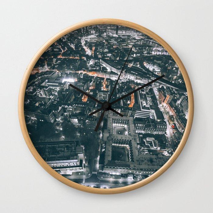 As Far As The Eye Can See Wall Clock