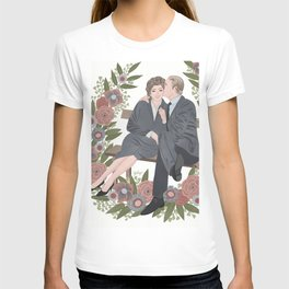 Couple on a bench T-shirt