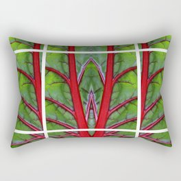 Swiss Chard - Leaf of Life Rectangular Pillow