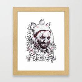xoxo Twisty Framed Art Print