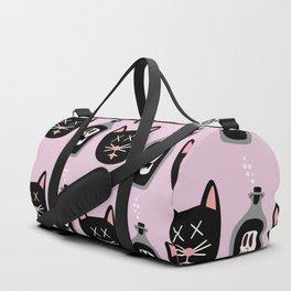 0d340f42a8c5 curiosity killed the cat Duffle Bag
