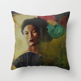 Paramount, 1935,  Jasmine Throw Pillow