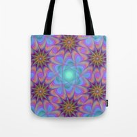 meditation Tote Bags featuring Meditation by David Zydd