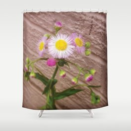 Urban Flower Shower Curtain