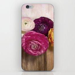 Poetry of spring iPhone Skin