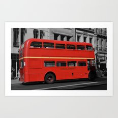 London Transport Art Print