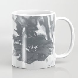 Bloom in Platinum Tone Coffee Mug
