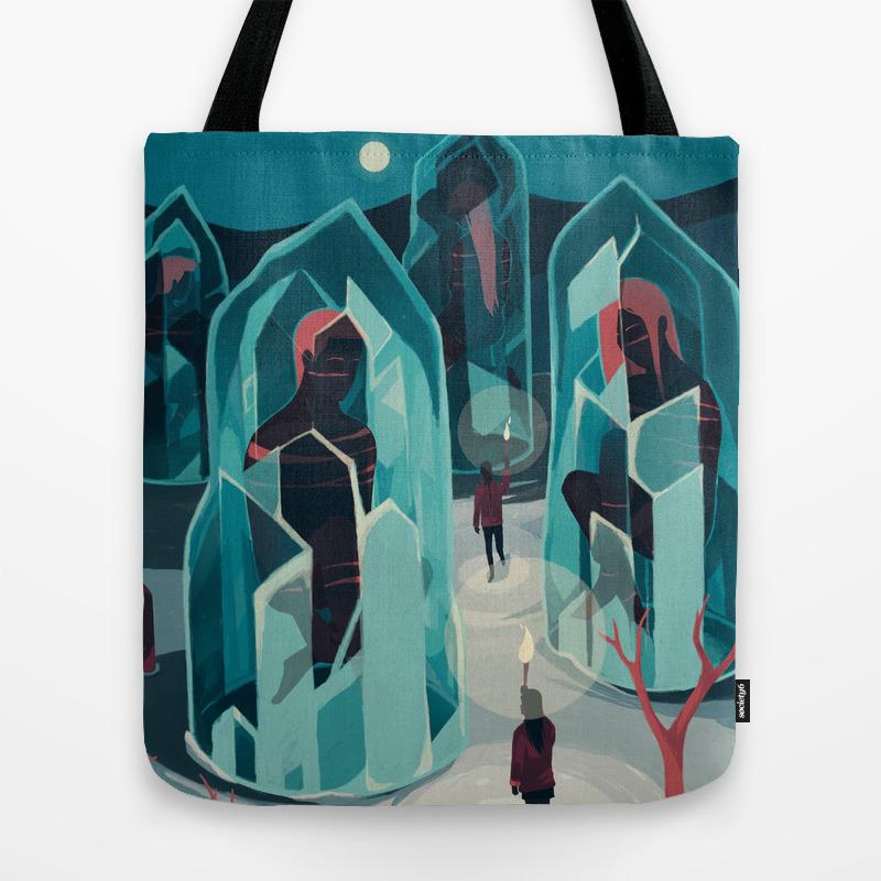 Ice Age Tote Bag by Renonogaj TBG3837404
