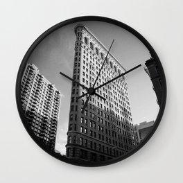 NYC Flatiron Building Wall Clock