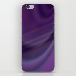 Purple abstract iPhone Skin