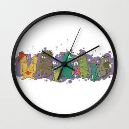 The Aen'U People Wall Clock
