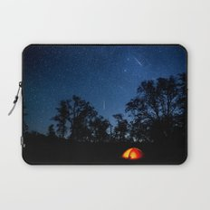 Let's camp under the stars Laptop Sleeve