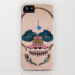 Cowboy Skull iPhone Case