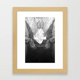 Not as Brave Framed Art Print