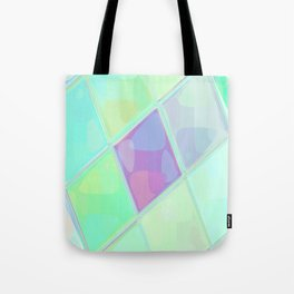 Re-Created Mirrored SQ LV by Robert S. Lee Tote Bag