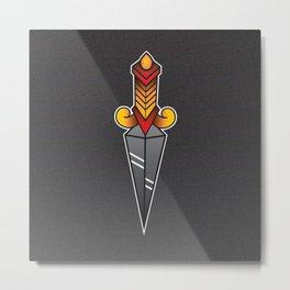 Unity Dagger  Metal Print