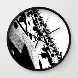 Barna Love B&W Wall Clock