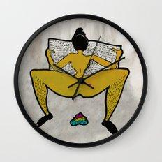 CMY Poo Wall Clock