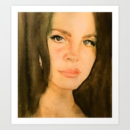Lana 2 Art Print