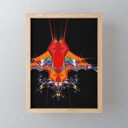 ALIEN INVADER 8 Framed Mini Art Print