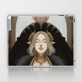 The lovers at the crossroads Laptop & iPad Skin