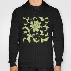 Oriental Flower - Daiquiri Green Hoody