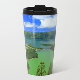 Lakes in Azores islands Travel Mug