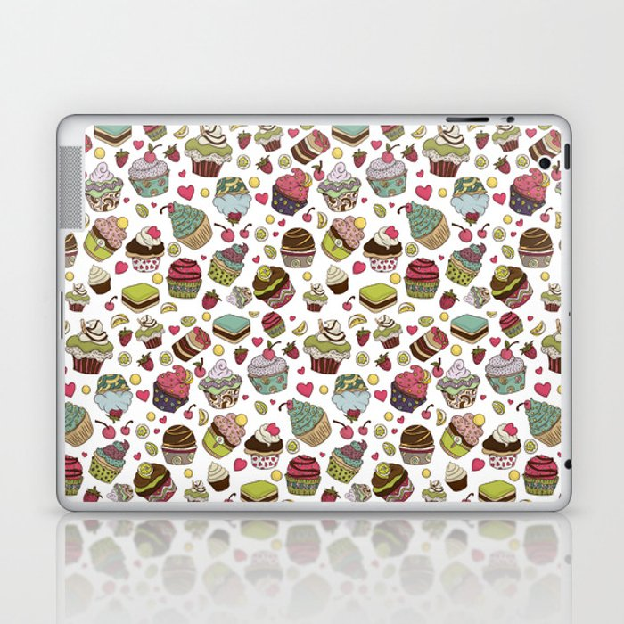Cupcakes! (in color) Laptop & iPad Skin