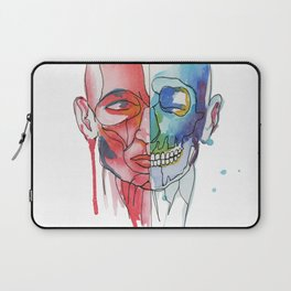 Skulls (appropriation) Laptop Sleeve