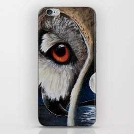 Eagle Owl - The Watcher - by LiliFlore iPhone Skin