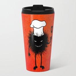 Evil Bug Chef Loves To Cook Travel Mug