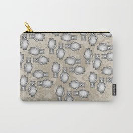 grizzly bear in foliage Carry-All Pouch