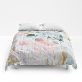 Emerging Abstact Comforters