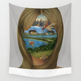 Dualism of Industrial Riches Wall Tapestry