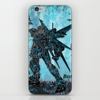 gundam iPhone & iPod Skins featuring Gundam Art Ba6ix  by Serg Leo  Ba6ix