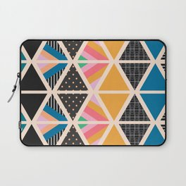 Triangle collage Laptop Sleeve