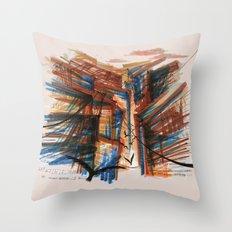 The City pt. 3 Throw Pillow