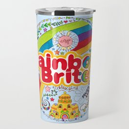 Rainbow Brite Travel Mug