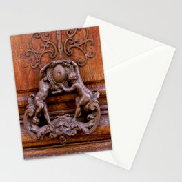 Paris Angel Door by Lika Ramati Stationery Cards
