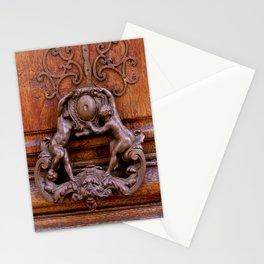 Paris Angel Door by Lika Ramati Stationery Cards