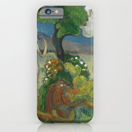 Paradise Lost (1848-1903) by Paul Gauguin. iPhone Case
