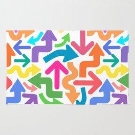 Arrow color Rug
